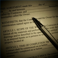 Attorneys fee contract