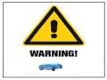 WARNING CAR
